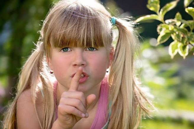 girl shhh